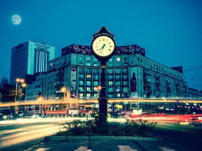 Un très joli timelapse à Bucarest, Roumanie