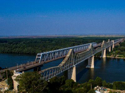 Le pont Cernavoda, Roumanie